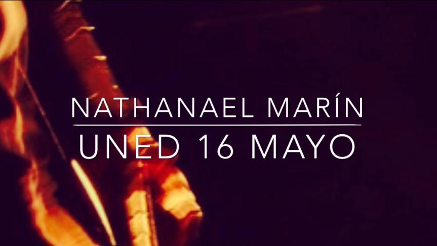 Nathanael Marín y sus cantos a la vida apoyando campaña de la UCR ; Derecho humano a lacomunicación