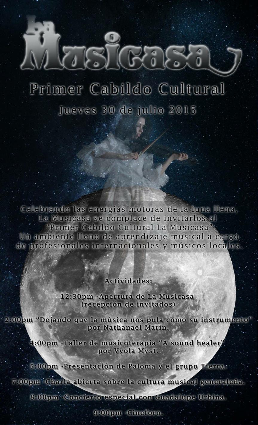 Recordando el primer Cabildo Cultural en LaMusicasa