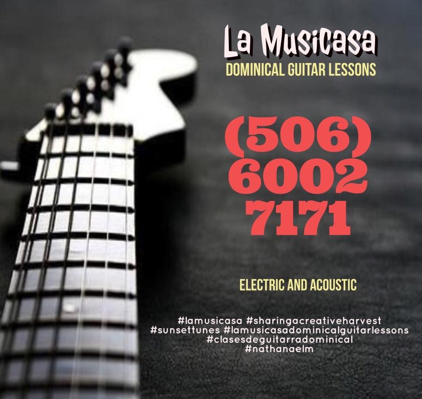 La Musicasa Dominical Guitarlesson.