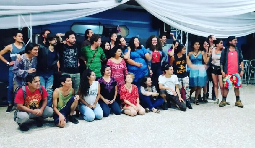 Nathanael Marín en la Peña cultural ramonence#97