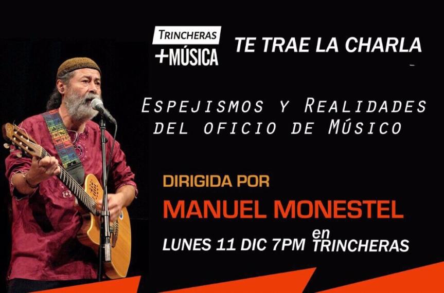 Charla con Manuel Monestel en Trincheras expresión artística, PérezZeledón.