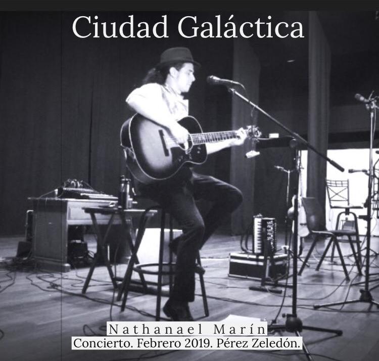 El album Ciudad Galáctica nos trae 5 frescos temas en vivo del concierto con NathanaelMarín.