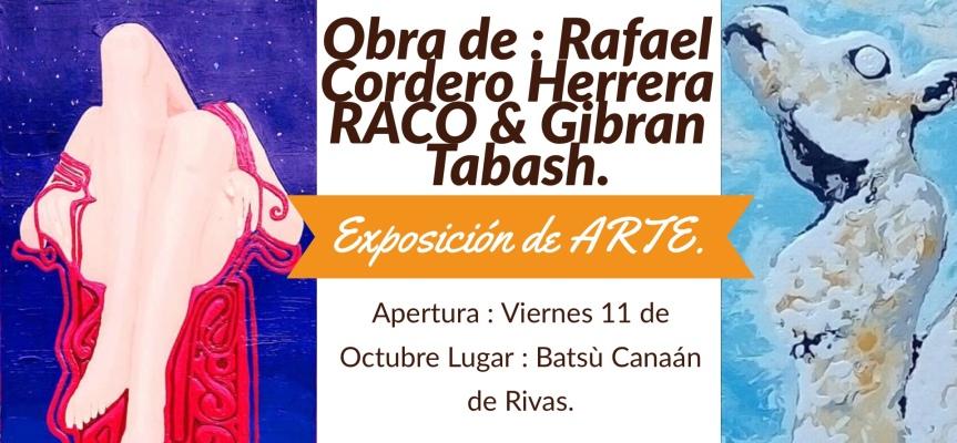 Exposición de arte y música como apertura del Festival Musical por La Paz desde Canaán deRivas.