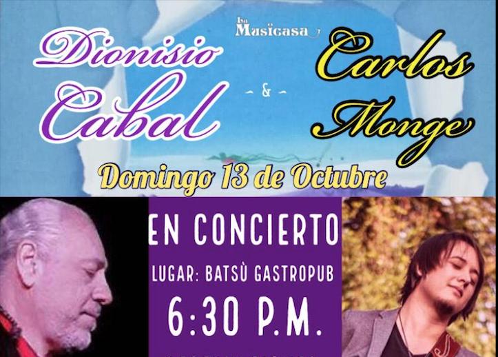 Dionisio Cabal y Carlos Monge