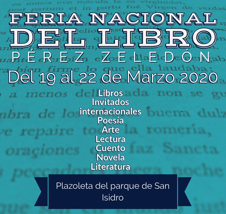 Próximamente feria Nacional del Libro en PérezZeledón