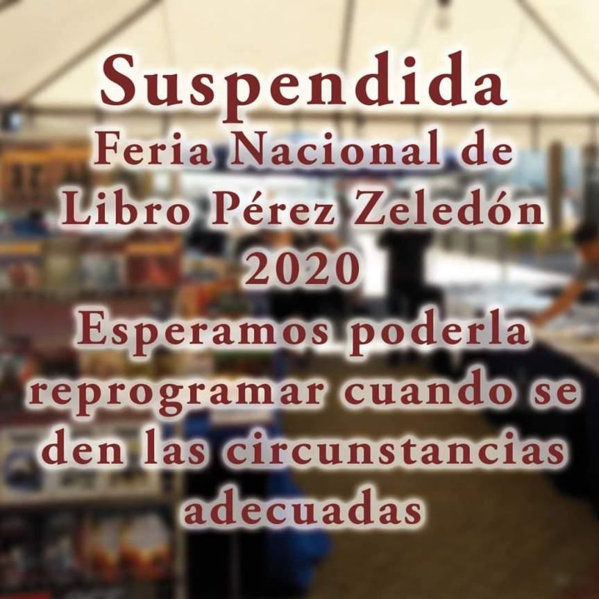 Feria Nacional del Libro SUSPENDIDA PérezZeledón.