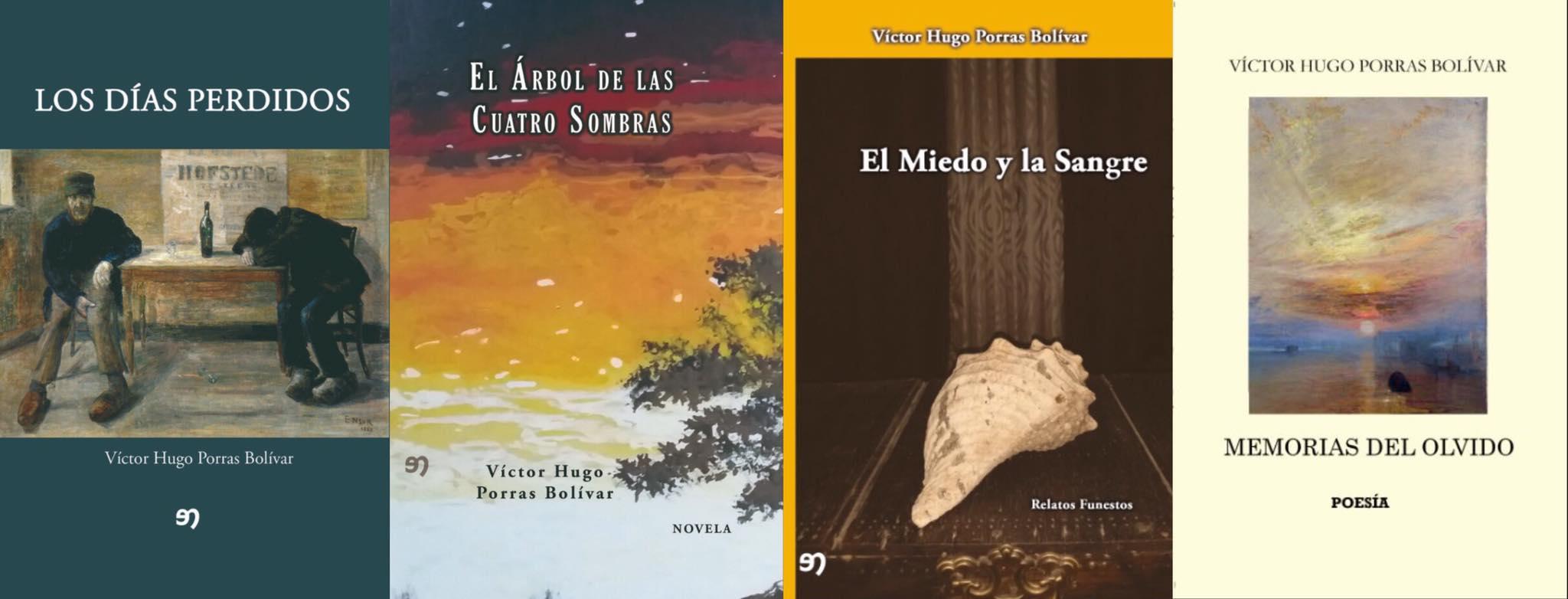 Libros publicados por el autor.