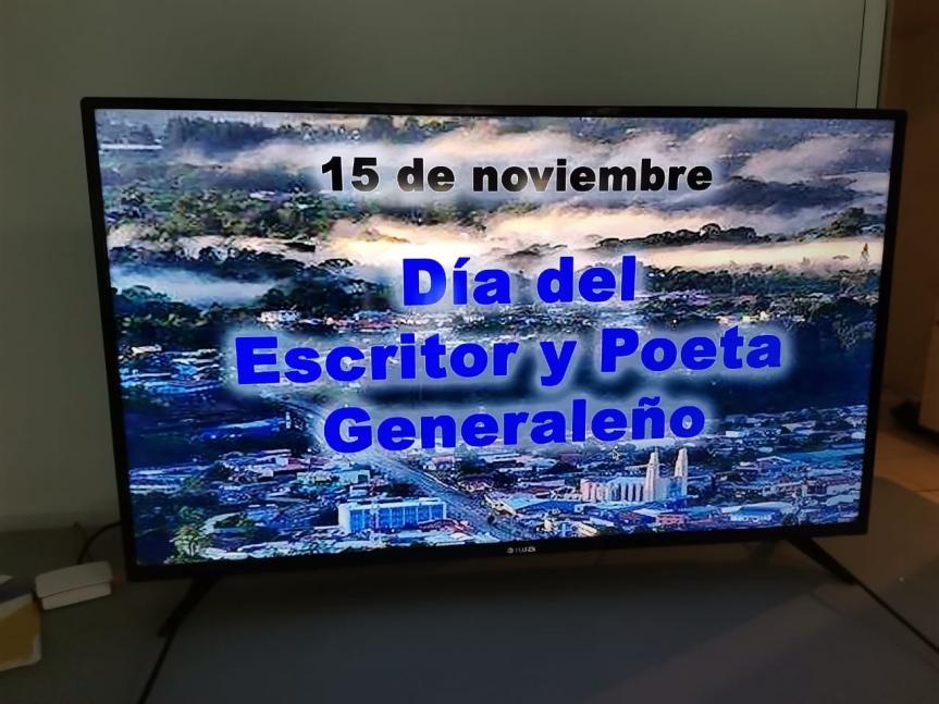 Celebramos el Día del Escritor y PoetaGeneraleño.