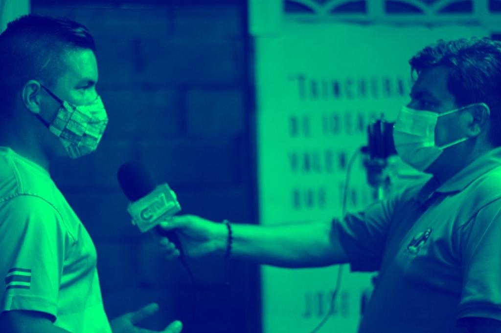 Noel Sandy realiza un video-programa en vivo con la junta directiva de PZRUNNERS