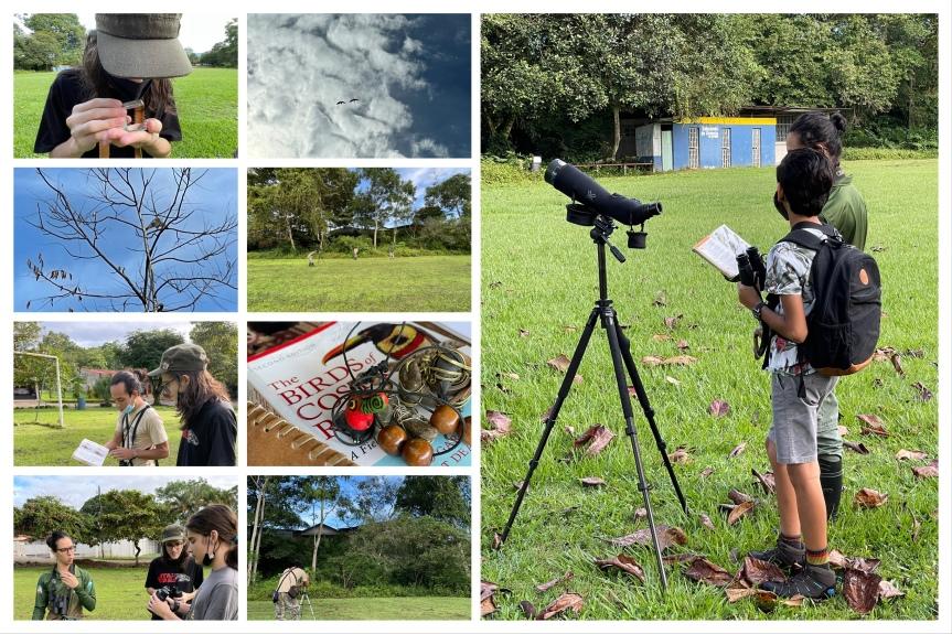 Así estuvo el 1er taller de naturalismo en Daniel Flores, Como observar aves en nuestracomunidad.
